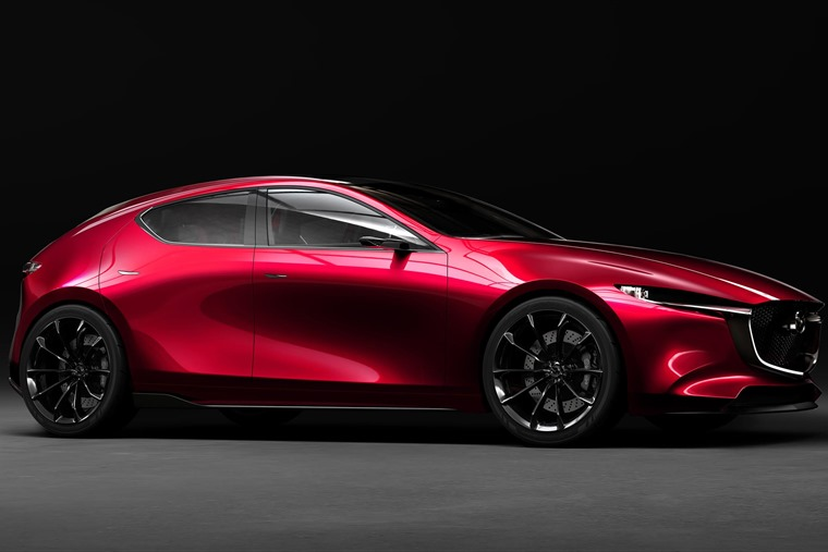 One of Mazda's two Tokyo concepts – the KAI
