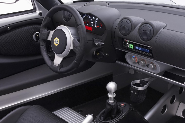 Interior pics haven't been seen yet, although expect an updated version of the Elise's simple, down-to-earth cabin.