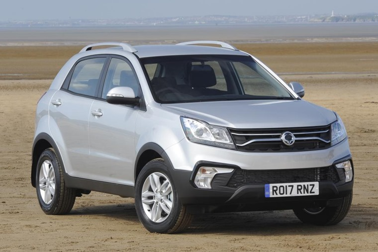 SsangYong Korando gets fresh new look for 2017