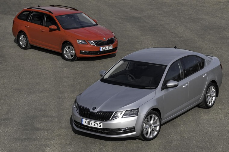 Skoda Octavia, currently available for under £125 per month