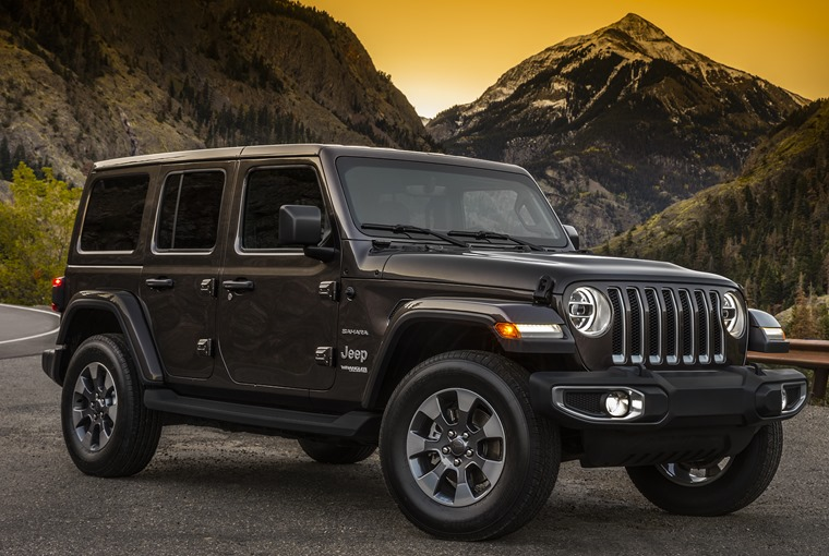 Jeep Wrangler 2018 – old school looks, new technologies.