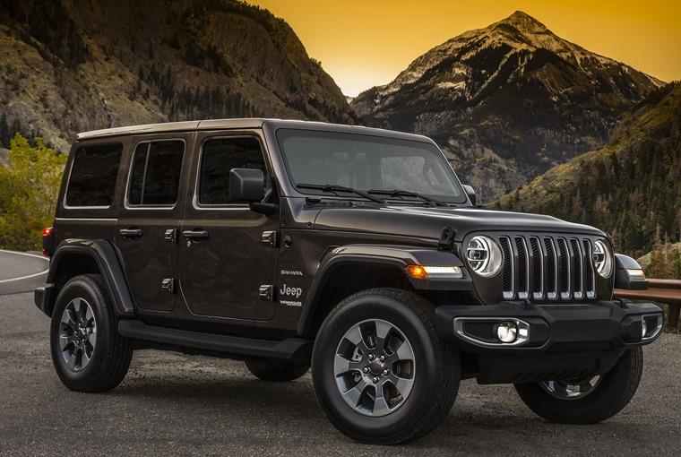Jeep Wrangler 2018 – old school looks, new technologies.