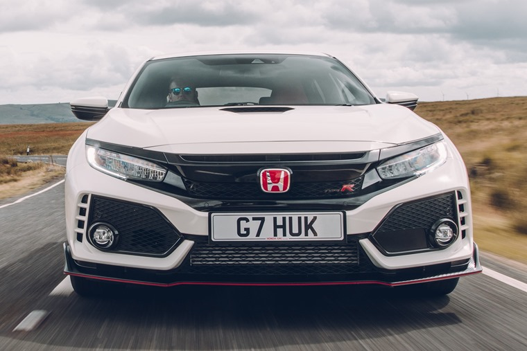 2017 Honda Civic Type R close up