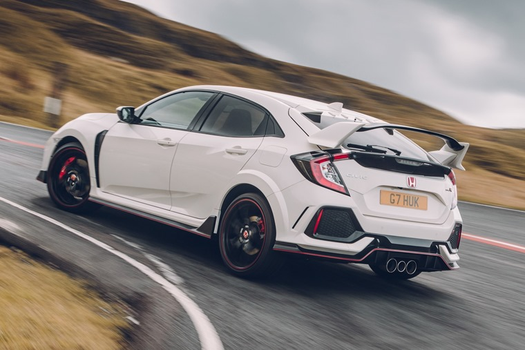 2017 Honda Civic Type R rear
