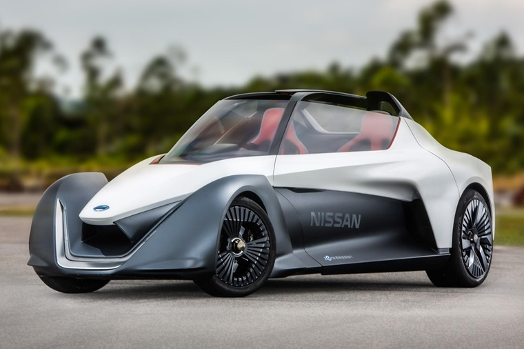 Nissan's Blade Glider prototype will take on the hillclimb.