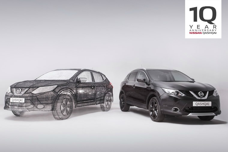 10 years of Nissan Qashqai – from sketch to success