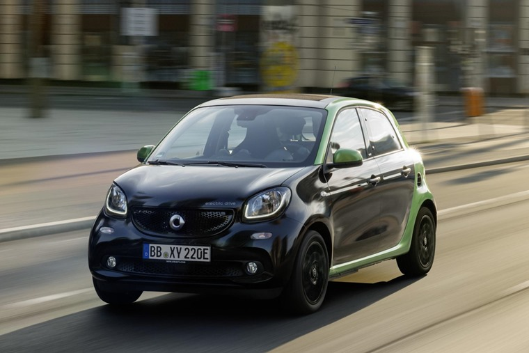 Smart ForFour city