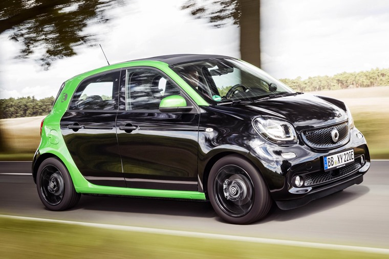 Review Smart Forfour Electric Drive