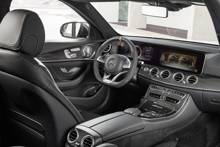Mercedes AMG E63 interior