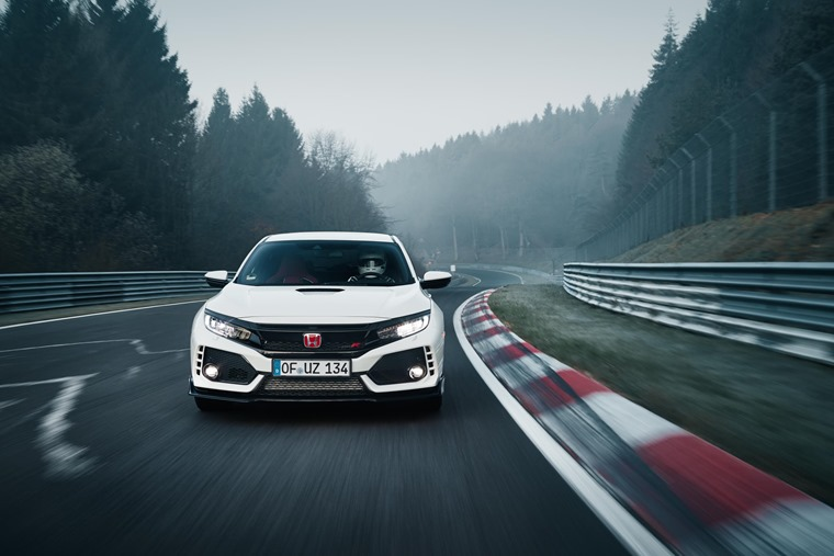Honda Civic Type-R Nurburgring Record