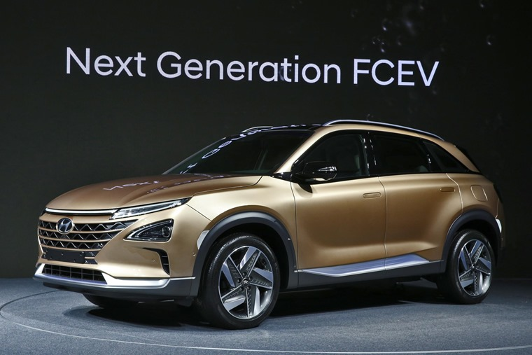 Hyundai Motor's Next-Gen Fuel Cell SUV