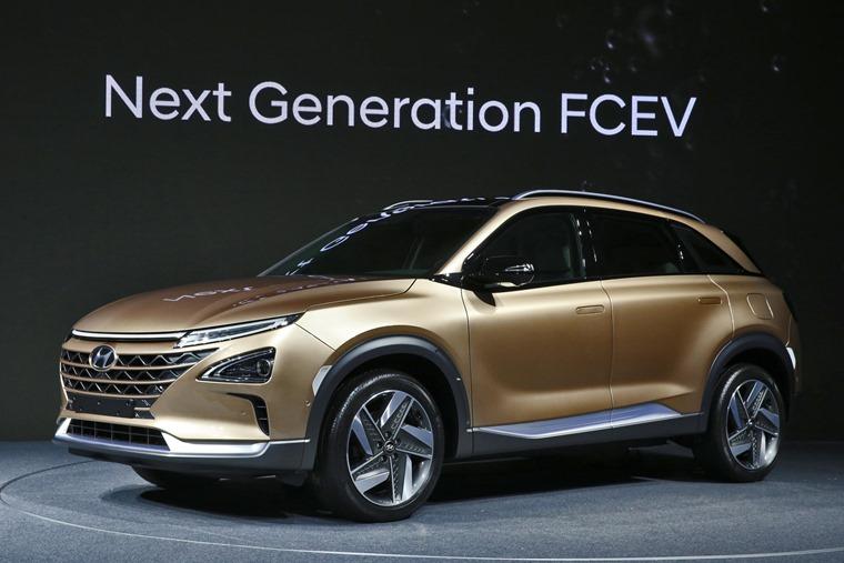 Hyundai Motor's Next-Gen Fuel Cell SUV