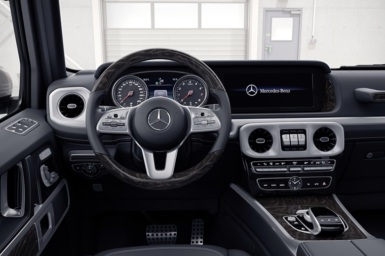 Mercedes has given us a glimpse of the new G-Class' interior ahead of a full reveal at the Detroit Motor Show.