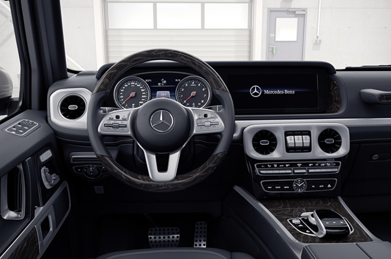 Mercedes-Benz G-Class 2018 interior