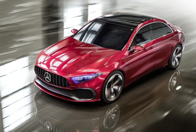 Mercedes-Benz Concept A Auto Shanghai