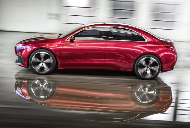 Mercedes-Benz Concept A Auto Shanghai side