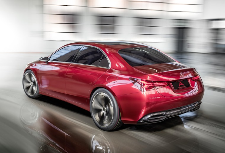Mercedes-Benz Concept A Auto Shanghai rear