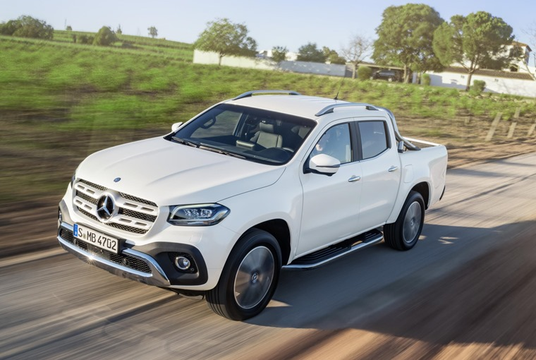 Production Mercedes-Benz X-Class