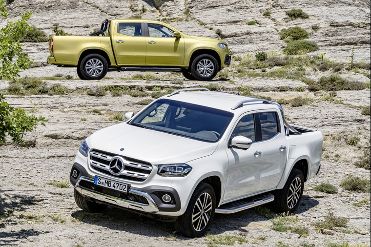 Pricing and specs revealed for new Mercedes-Benz X-Class pick-up