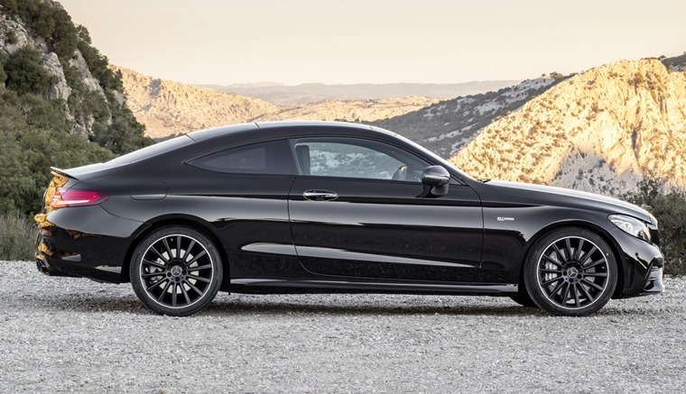 2018 Mercedes-AMG C43 Coupe side
