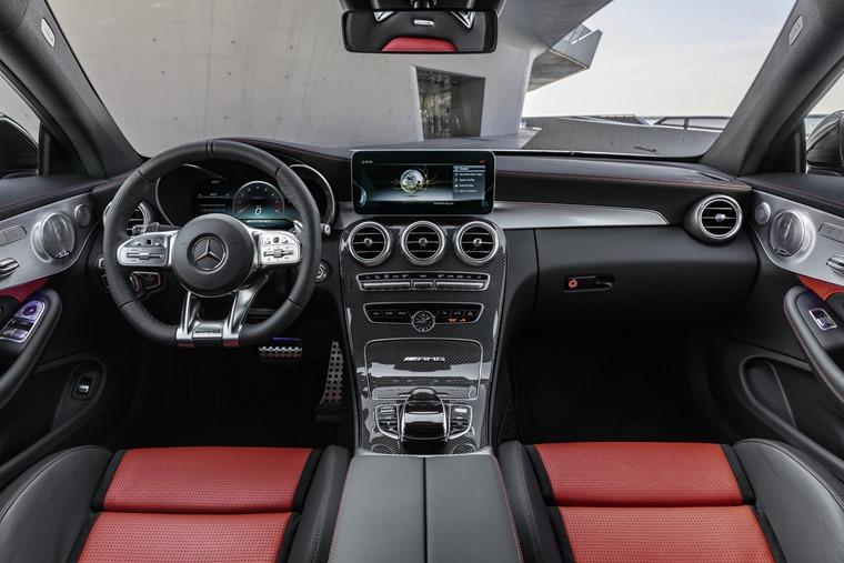 2018 Mercedes-AMG C63 interiort