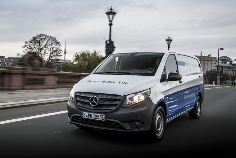 Mercedes-Benz to electrify van range starting with the launch of eVito