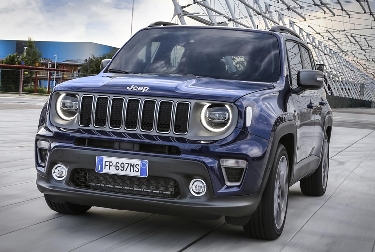 2019 Jeep Renegade priced from £19,200