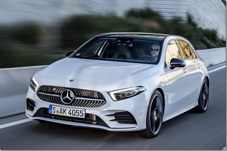 2018 Mercedes-Benz A-Class front