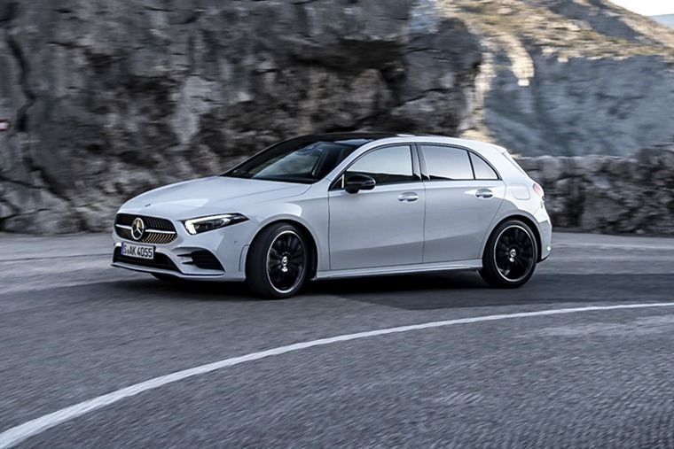 Looking forward, we were recently at the launch of the new Mercedes-Benz A-Class ahead of its imminent UK release