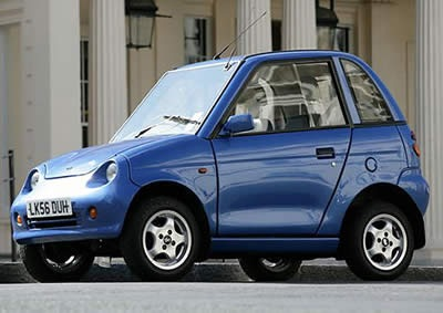 G Wiz Electric Car Image