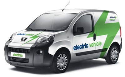 Allied add two new electric Peugeot vehicles