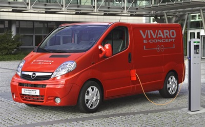 Vauxhall Vivaro e-concept