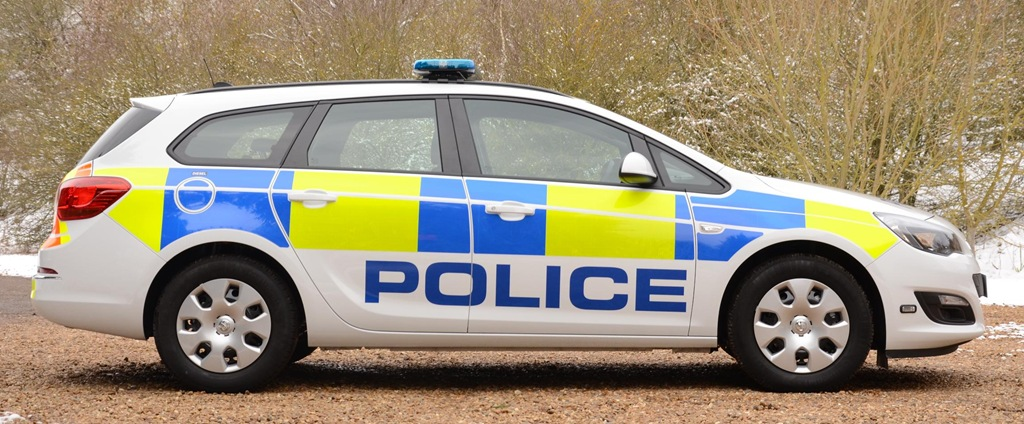 Futuristic Vauxhall Astra Wins Police Technology Challenge