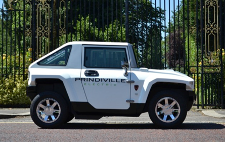 Hummer Goes Green With Mini Electric Car
