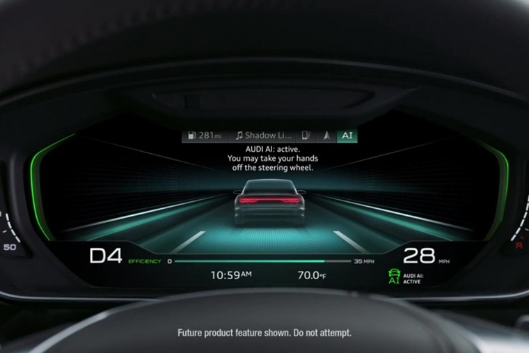 Audi AI in action