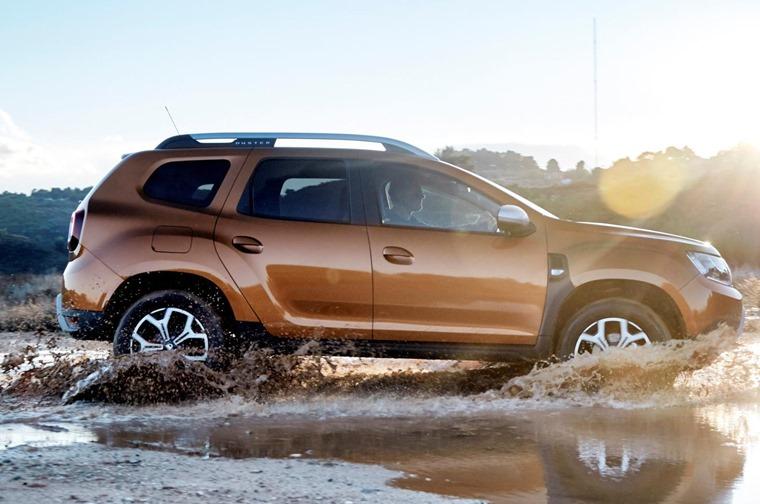 2018 Dacia Duster side