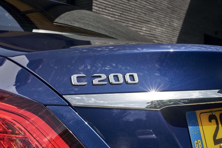 2018 Mercedes-Benz C-Class rear