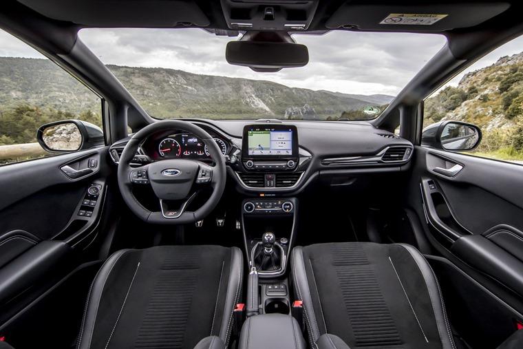 Ford Fiesta 2018 ST interior