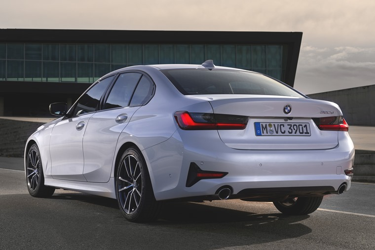 2019 BMW 3 Series rear