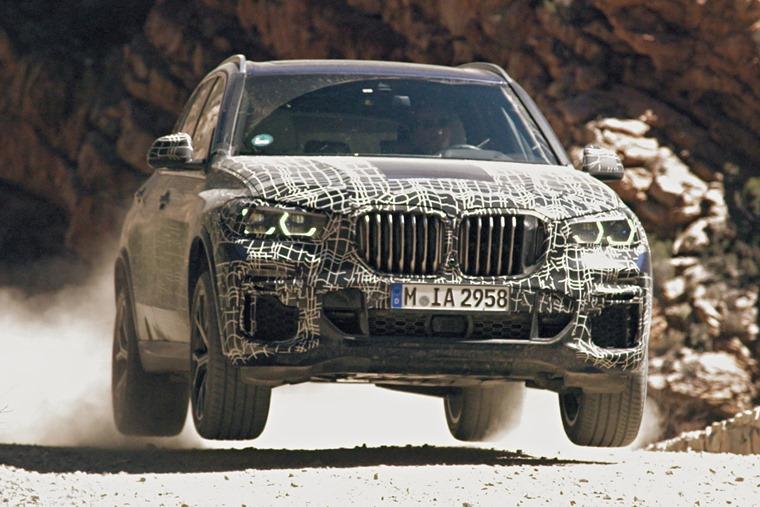2019 BMW X5 testing