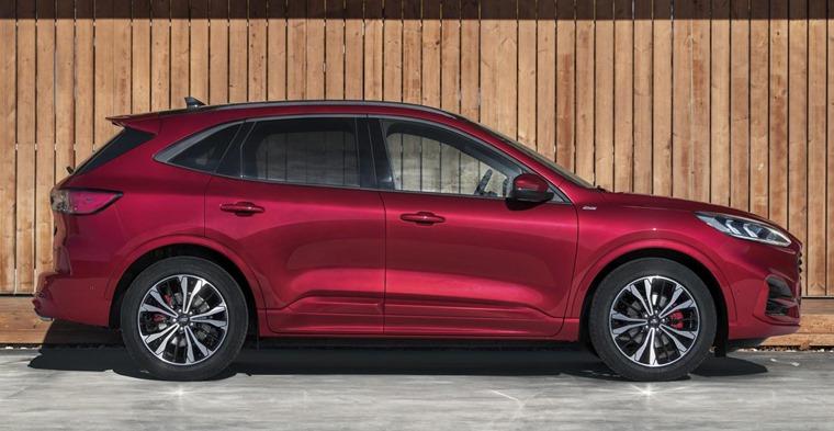 2019 Ford Kuga side