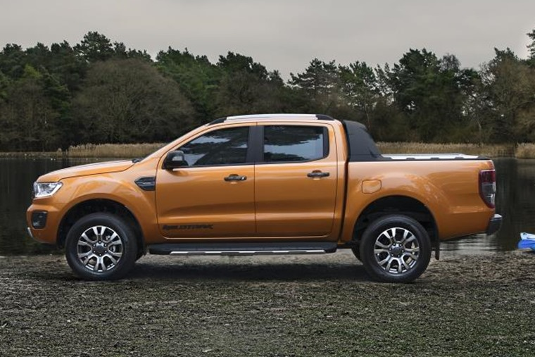 2019 Ford Ranger Wildtrak side