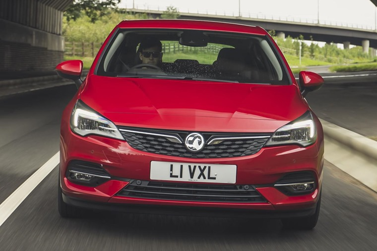 2019 Vauxhall Astra head on