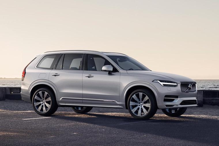2019 Volvo XC90 side