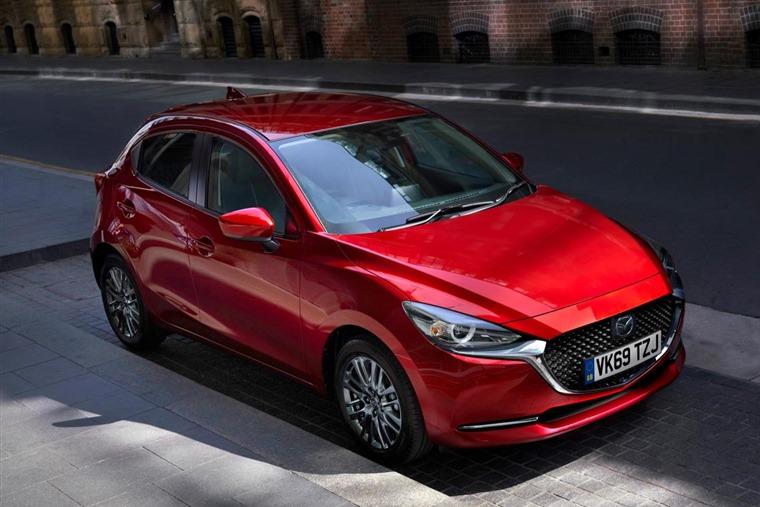 2020 Mazda 2 front