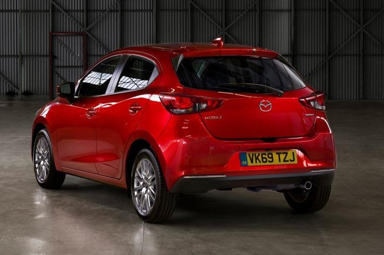 2020 Mazda 2 rear