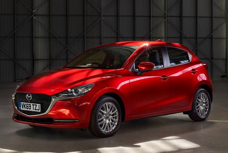 2020 Mazda 2 side 1