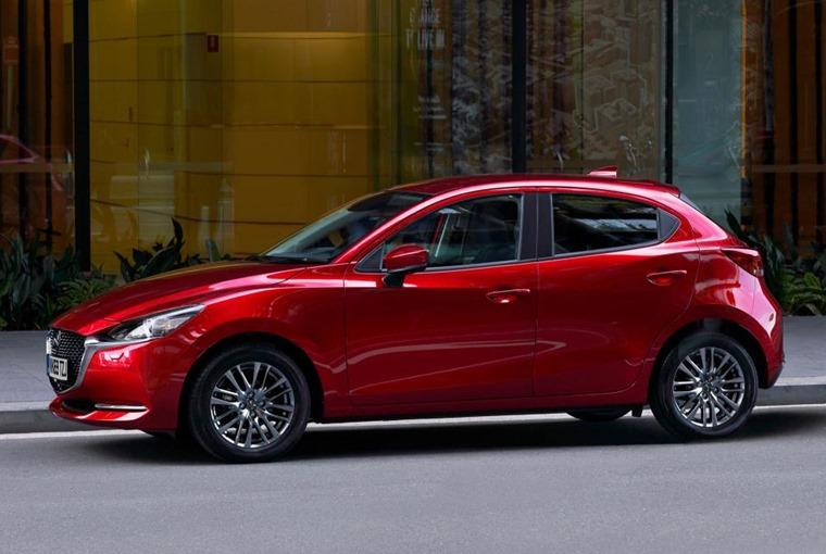 2020 Mazda 2 side