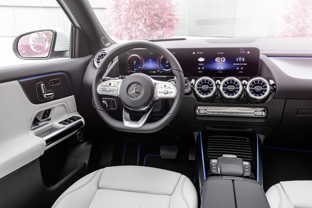 Mercedes-Benz EQA 2021: All-new electric crossover ...