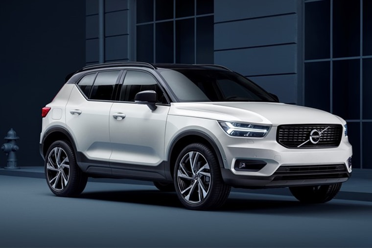 The new XC40 is available via the